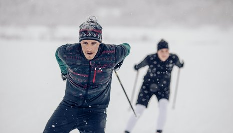 Winter fairytale for sports enthusiasts
